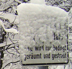 Winter in Freiberg