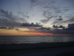 Sonnenuntergang in Ft. Myers Beach